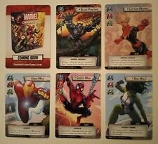 Marvel Champions LCG Comic Book Style Alt Art Superheroes Promo Fantasy Flight