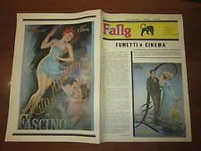 FANZINE DI FUMETTI NERBINI FANG N°2 MAGGIO 1983 FUMETTI E CINEMA POSTER HAYWORTH