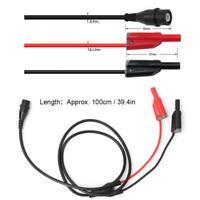 BNC Male Plug to Safety Banana Stackable Plug Lead Probe Testing Cable Cord