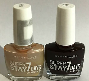 Maybelline SuperStay 7 Days Gel Nail Polish SUIT UP 922 & RUBY THREADS 923 Both!