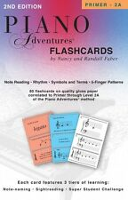 Piano Adventures Flashcards In-a-Box Faber Piano Adventures NEW 000420218