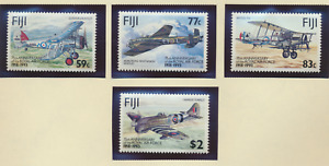 Fiji Stamps Scott #687 To 690, Mint Never Hinged, Royal Air Force