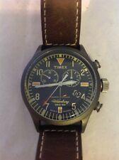 Timex TW2P84100 Chronograph The Waterbury Watch - Indiglo Original - Working