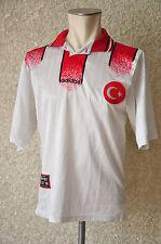 Türkei Trikot  Gr Sadidas  Nationalmannschaft Turkey Jersey 1996 rar