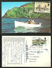 Pitcairn Bounty Bay Boat People 2 Briefmarken