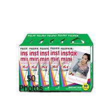 Fuji Instax Mini Instant Film (50 pics) f/ Model 7 7s 8 25 50 70 90 Cameras 2018