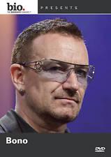 Biography: Bono (DVD, 2010) U2    BRAND NEW