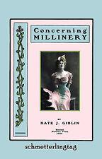 1902 Victorian Millinery Book Hat Making Edwardian Make Hats DIY Milliner Howto