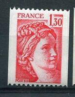 FRANCE 1979 timbre 2063, ROULETTE, type SABINE, neuf**