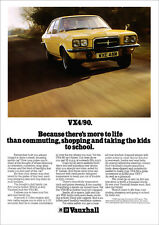 Vauxhall 90 Sales Car Brochures