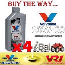OLIO MOTORE SINTETICO RACING VR1 10W-60 4L VALVOLINE VA873338