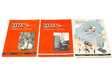 3x QRV Amateur Radio, II. Jahrgang, Heft 1/2, 3 und 4/5 aus 1948!