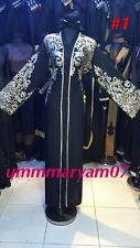Latest Design OPEN FRONT Dubai Abaya Kaftan Farasha  Maxi Dress Abaya