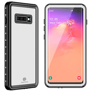 For Samsung Galaxy S10 Plus Waterproof Case Shockproof Built in Screen Protector