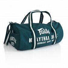 Fairtex Bag9 Nylon Gym Muay Thai Boxing Sporting Martial Arts Mma K1 Bag Barrel