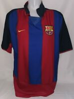 Nike FC Barcelona Barca Trikot Gr. L Saison 2003 / 2004