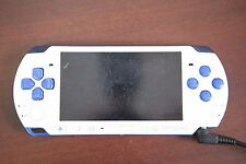 PlayStation Portable PSP-3000 Blue/White Console Japan Import system Please read