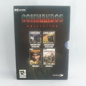 PC CD-Rom - Commandos Collection - Behind Enemy Lines + Call of Duty + 2 + 3