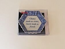 Spode Blue Room Chance Made Us Sisters 2006 Tray Candy Dish Mementos Chance