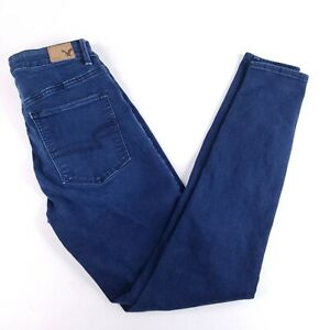 American Eagle Women's 6 Reg (27 x 27) Sky High Rise Jegging Stretch Jeans