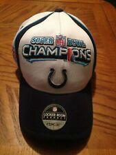"INDIANAPOLIS COLTS Hat / ""Baseball Cap"" Super Bowl XLI Championship Brand New!"
