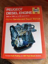 Haynes Car Manual - Honda Civic 1991-98 & Peugeot Diesel Engine 1982-96