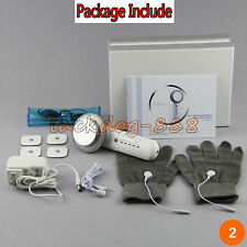 Ultrasound Galvanic Therapy LED Light Microcurrent Gloves 6 in 1 Ultrasonic 1MHz