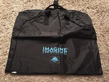 "NWOT Imagine MCA Universal Home Video Black Garment Bag, 23""x40"""