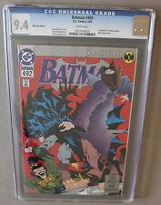BATMAN #492 Platinum Edition KNIGHTFALL 1993 BANE Low Print Scarce CGC NM 9.4