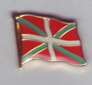 Basque Country Flag Pin, Flag, Basque, Euskadi, País Vasco, Pays