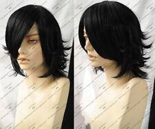 Death Note L Short Cosplay Black Wig