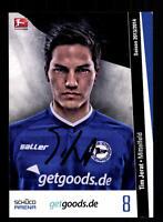Tim Jerat Autogrammkarte Arminia Bielefeld 2013-14 + A 134840