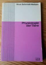 Buch Physiologie der Tiere Knut Schmidt-Nielsen Kosmos Studienbuch 1965 Bio