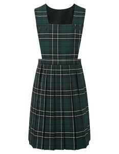 Blue Max Banner School Uniform Girls Prestwick Tartan Pinafore