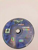 Sony PlayStation 1 PS1 Disc Only Tested Capcom vs. SNK Pro Ships Fast