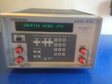 10016 WAVETEK 270 12MHZ PROGRAMMABLE FUNCTION GENERATOR