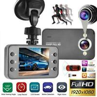 In CAR DVR Compact Camera Full HD 1080P Recording Dash Camcorder Motion Cam P4I9