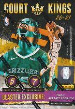 2020-21 Panini Court Kings Basketball International Factory Sealed Blaster Box
