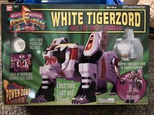 Mighty Morphin Power Rangers White Tigerzord & White Ranger Figure NEW (sealed)