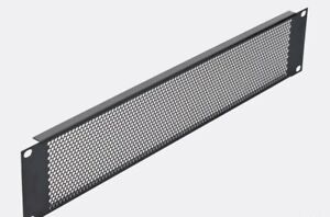 2U Vent rack panel Pennelcom Perforated NEW