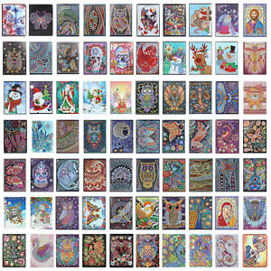 DIY Mandala Special Shaped Diamond Painting 50-100 Pages A5 Notebook Sketchbook