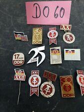 13 Abzeichen-Anstecker Jahrestag der DDR  (DO60)