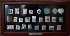 Silver Worlds Most Valuable Stamps Franklin Mint INGOT COMPLETE SET 925 Sterling