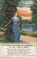 """WWI -""""The roses have made me remember""""  QS.847"""