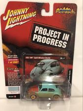 1951 VW Beetle Split Screen Green Dirty Version 1:64 Johnny Lightning SP054A