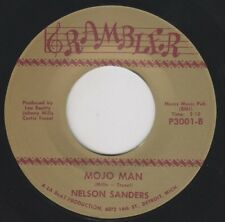 "NELSON SANDERS Mojo Man RAMBLER Re. 45 7"" Raw 1967 Detroit R&B Soul Mover HEAR"