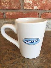 OREO Nabisco Raised logo cookies & cream ceramic White OVERSIZED coffee cup mug