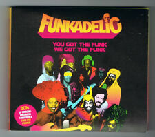 FUNKADELIC - YOU GOT THE FUNK / WE GOT THE FUNK - 2 CD 22 TITRES - COMME NEUF