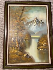 PHILLIP CANTRELL- -ORIGINAL --OIL PAINTING- SIGNED-GREAT GIFT FOR NEW HOME BUYER