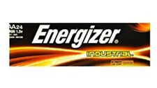 24 Energizer Industrial AA Alkaline Batteries (EN91, LR6)